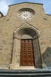 Cathédrale de Sansepolcro Photos libres de droits