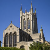 Cathédrale de St Edmundsbury dans St Edmunds d'enfouissement Photographie stock libre de droits