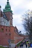 Cathédrale de Wawel, Cracovie Pologne Photo stock
