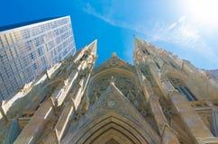 Cathédrale New York du ` s de St Patrick Photos libres de droits