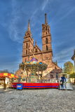 Cathédrale principale de Bâle Images libres de droits