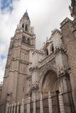 Cathédrale à Toledo Images libres de droits