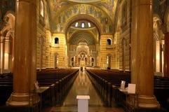 cathed louis świętego wewnętrznego zdjęcie royalty free