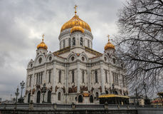 Cathederal of christ the saviour Stock Image
