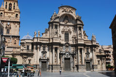 Cathederal Murcia Royalty-vrije Stock Foto's