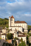 Cathederal at St Cirq la Poppie Stock Image