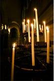 Cathederal świeczki Obrazy Royalty Free