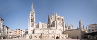 Cathedra of Burgos, Spain Royalty Free Stock Images