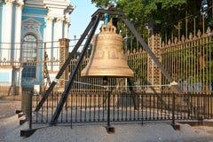 Cathedra de Smolny do sino de igreja Imagens de Stock Royalty Free