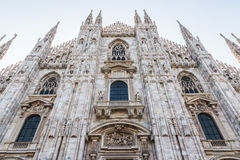The cathedra of Milan Stock Image