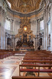 Cathedra of Saint Peter Royalty Free Stock Photos
