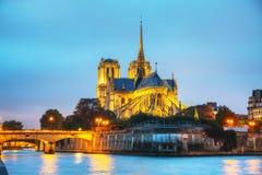 cathedral κυρία de notre Παρίσι Στοκ φωτογραφία με δικαίωμα ελεύθερης χρήσης