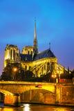 cathedral κυρία de notre Παρίσι Στοκ εικόνες με δικαίωμα ελεύθερης χρήσης