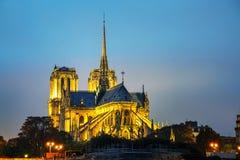 cathedral κυρία de notre Παρίσι Στοκ φωτογραφίες με δικαίωμα ελεύθερης χρήσης