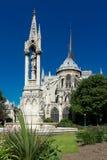 cathedral贵妇人・ de notre巴黎 巴黎 库存图片