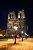 cathedral贵妇人・ de notre巴黎 库存图片