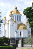 Cathedral. In the city of Rivne Stock Photo