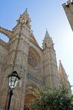 Cathedral. Of Palma de Majorca in Spain Stock Photos