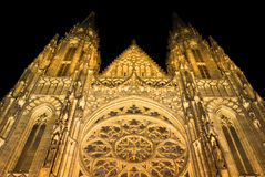 Cathedral. Of sv. Vit in Prague stock photo