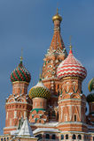 Cathedral. Red square moscow russia Royalty Free Stock Images