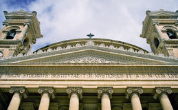 Cathedral. In Mosta, Malta royalty free stock photo
