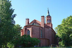 Cathedral. In Savonlinna, Finland. Europe Royalty Free Stock Image
