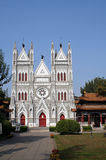 Cathedral. North Cathedral of Beijing China Stock Photo