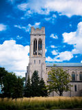 Cathedral. View of the outside of a church in Minneapolis, Minnesota Stock Image
