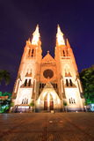 Cathedral. In Jakarta Indonesia a landmark buildings Stock Photography