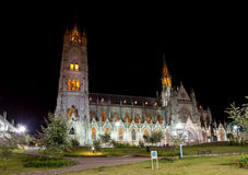 Cathedral of Quito Royalty Free Stock Images