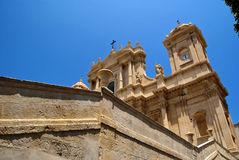 Cathedral. Baroque cathedral of noto in sicily Stock Photo