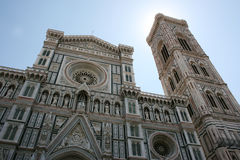 Cathedral. Detail in florence  italy Stock Photo