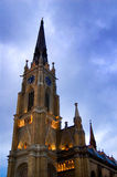 Cathedral. The Catholic gothic cathedral in the Novi Sad royalty free stock photo
