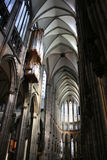 Cathedral. Inside the Cologne Cathedral, Germany royalty free stock photos