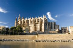 Cathedral. Palma Stock Photo