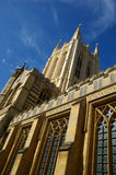 Cathedral. Bury Saint Edmunds Cathedral and heaven Stock Photography