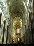 Cathedral. St. Vitus cathedral in Prague stock images