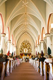 Cathedral. Wedding Ceremony in a Big Catholic Cathedral Stock Photos