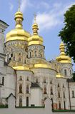 The cathedral. Cathedral of the Dormition - Kiev Pechersk Lavra in Kiev, Ukraine Royalty Free Stock Photography