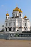 The Cathedral. Of Christ the Saviour, Moscow Stock Photography