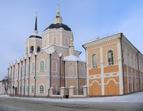 Cathedral. Christian cathedral. Russia.  Tomsk Royalty Free Stock Image