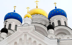 Russian Cathedral Cupola stock photography