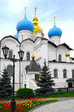The Cathedral. Of the Annunciation in Kazan Kremlin, Russia Royalty Free Stock Images