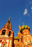 Cathedral. Saint Basil's Cathedral On Red Square In Moscow Royalty Free Stock Images