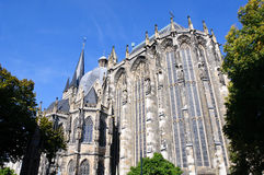 Cathedral - Aachen, Germany Royalty Free Stock Images