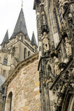 Cathedral in Aachen, Germany Stock Photography