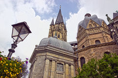 Cathedral in aachen, germany Stock Photo