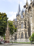 Cathedral Aachen Stock Image