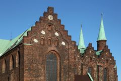 Cathedral of Aarhus, Denmark Stock Image