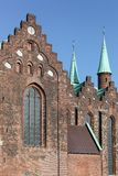 Cathedral of Aarhus, Denmark Royalty Free Stock Image